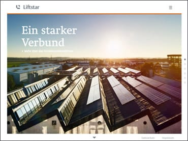 Website Liftstar.de